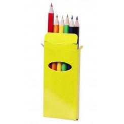 Caja 6 lápices de colores