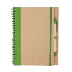 Cuaderno anillas con bolígrafo