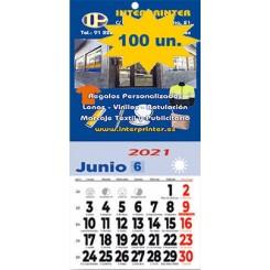 Calendario para nevera