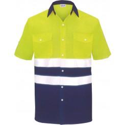 Camisa M/C alta visibilidad